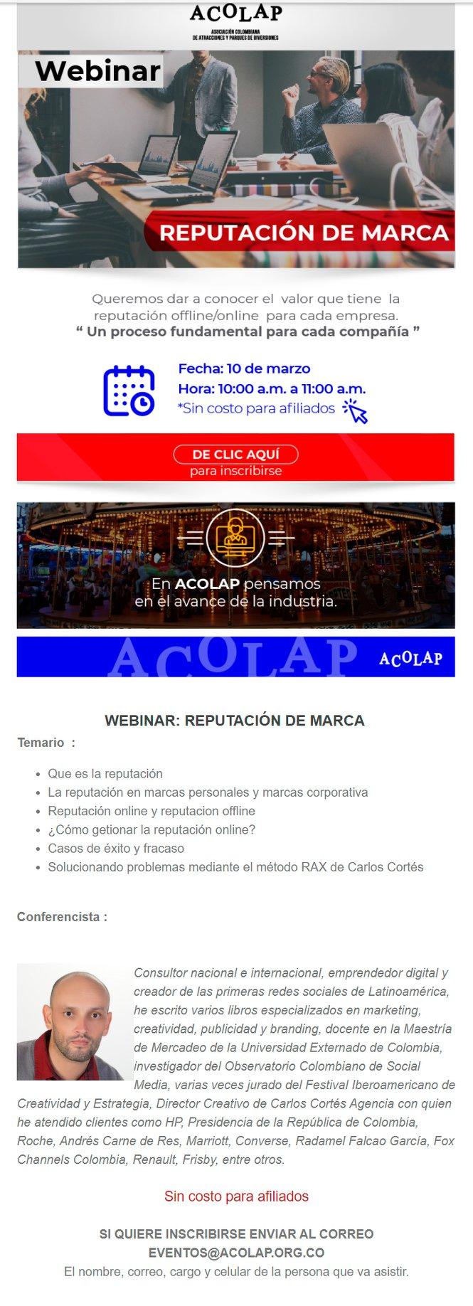 Asociación Colombiana de Atracciones y Parques de Diversiones Acolap