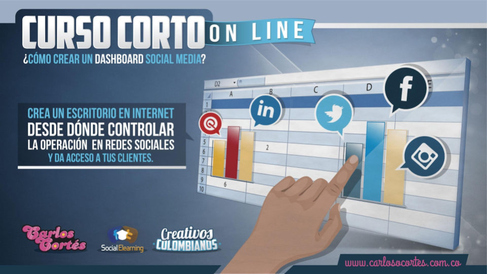 Cómo crear un dashboard social media