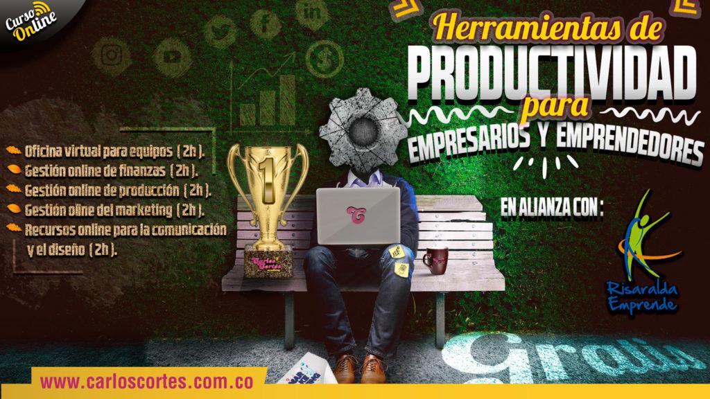 Curso de Herramientas de Productividad en alianza con Risaralda Emprende
