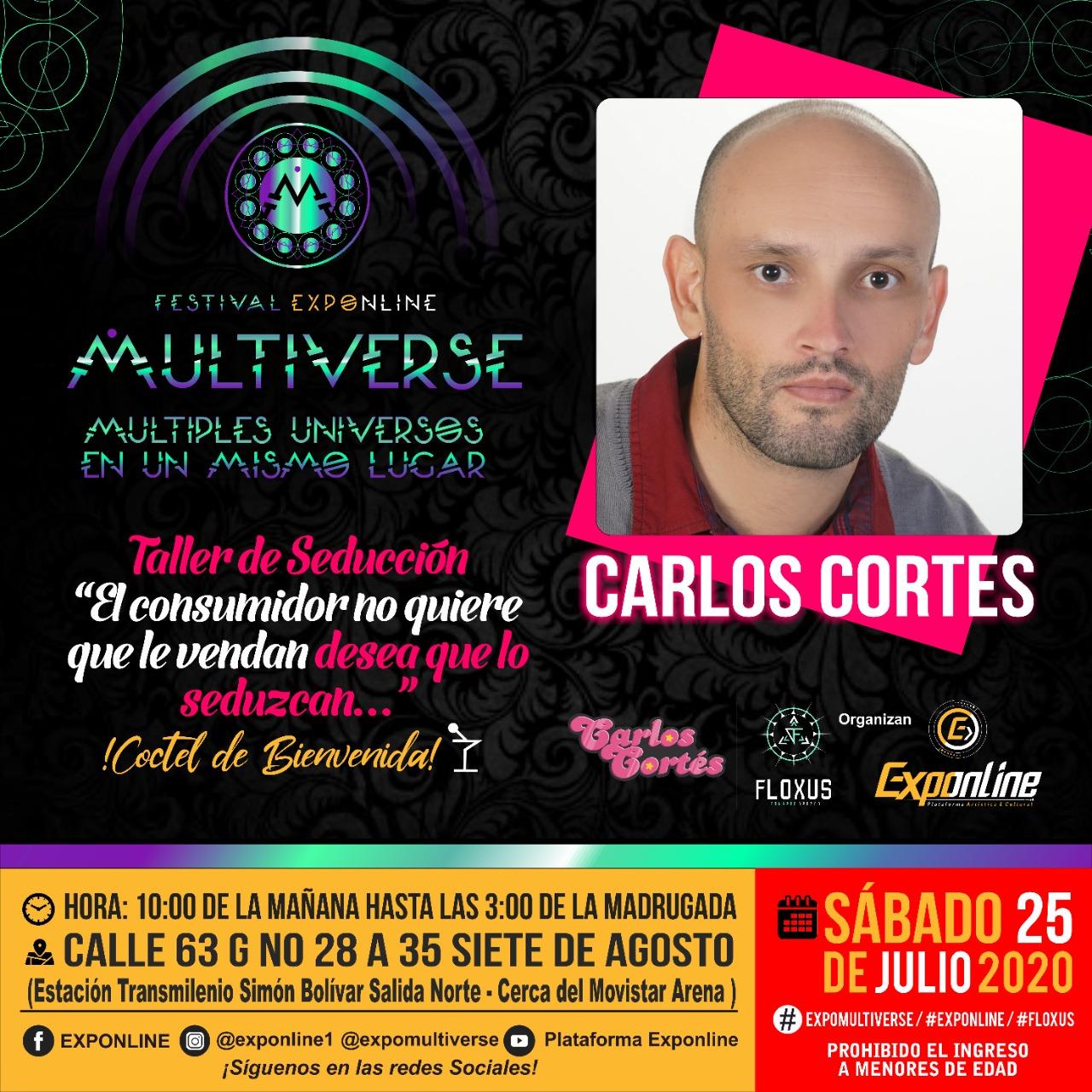 Festival Expoline Carlos Cortés