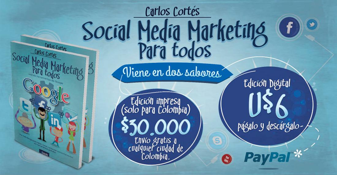 LIbro Social Media Marketing para Todos
