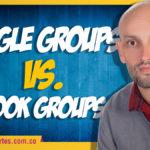 Google Groups versus Outlook Groups