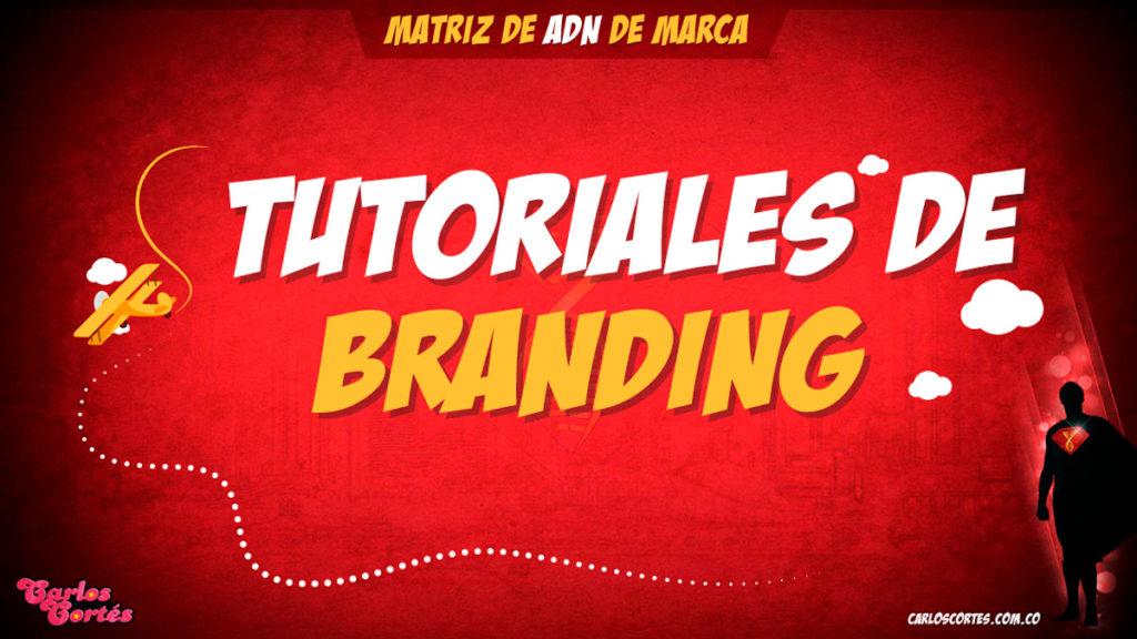 Tutoriales de branding Carlos Cortés