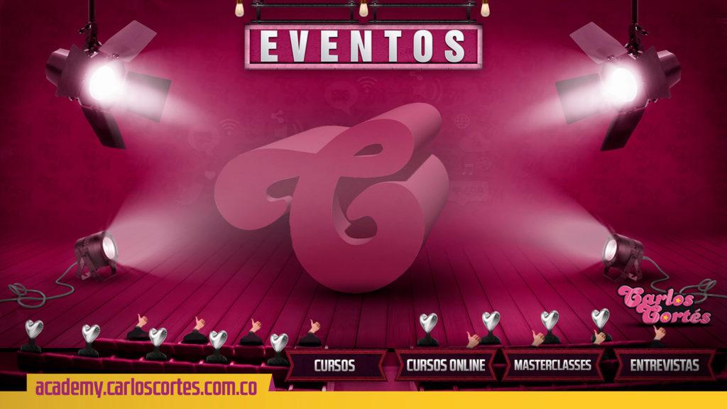 Carlos Cortés Academy Eventos