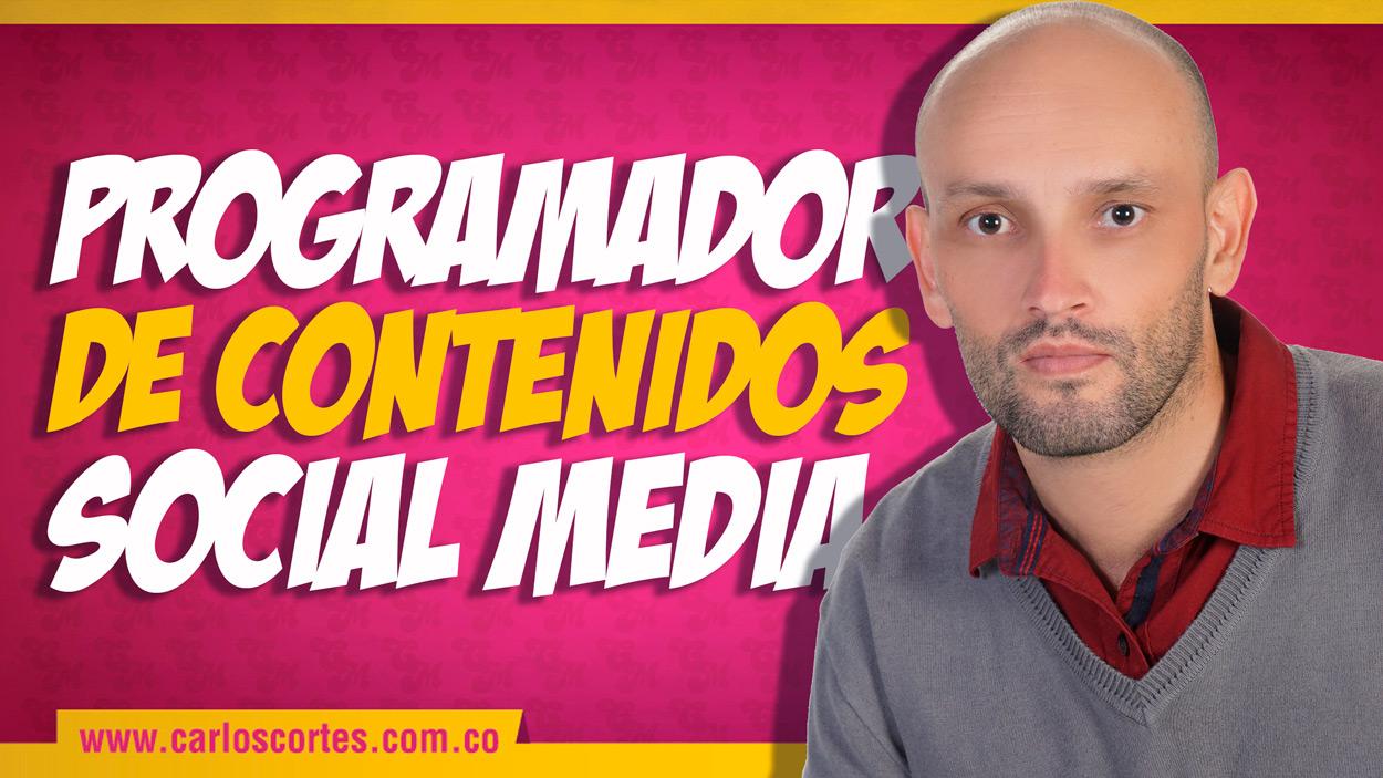 Programador de contenido social media