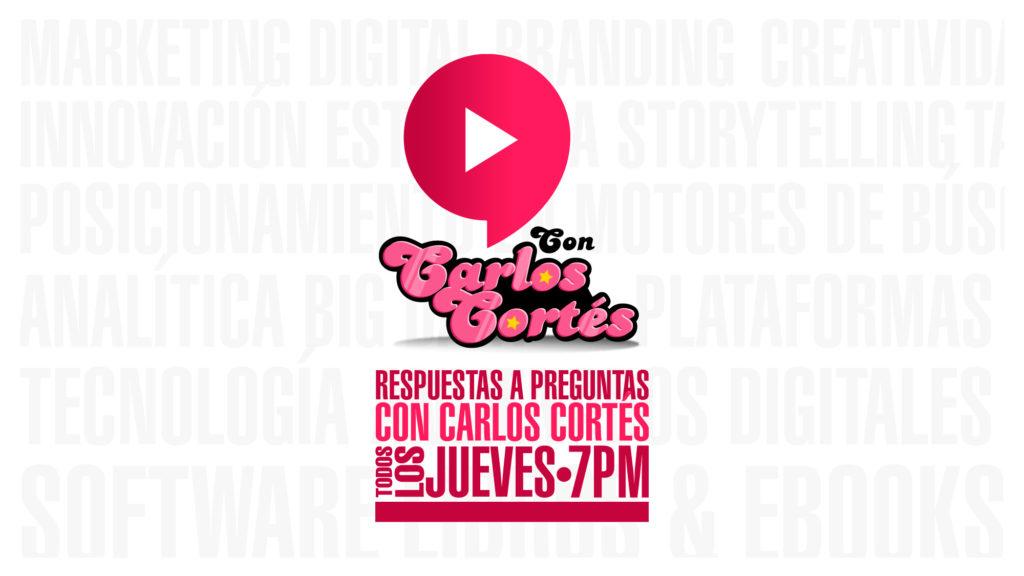 Respuestas a preguntas con Carlos Cortés por Youtube
