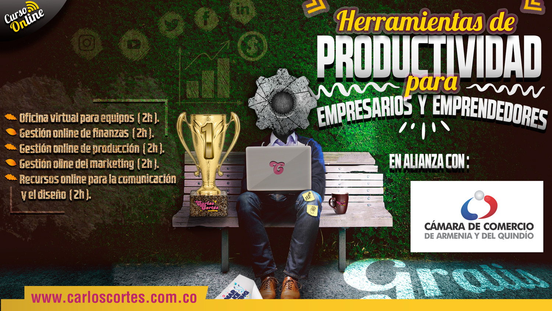 Curso de Herramientas de Productividad para Empresarios y Emprendedores